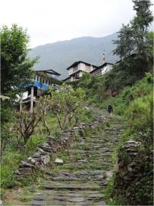 Népal Poon Hill village jour 1 1