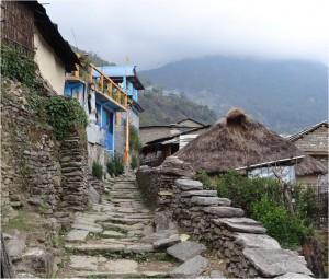 Népal Poon Hill village jour 1 2