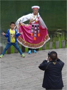 Chine Jiuzhaigou déguisement 1