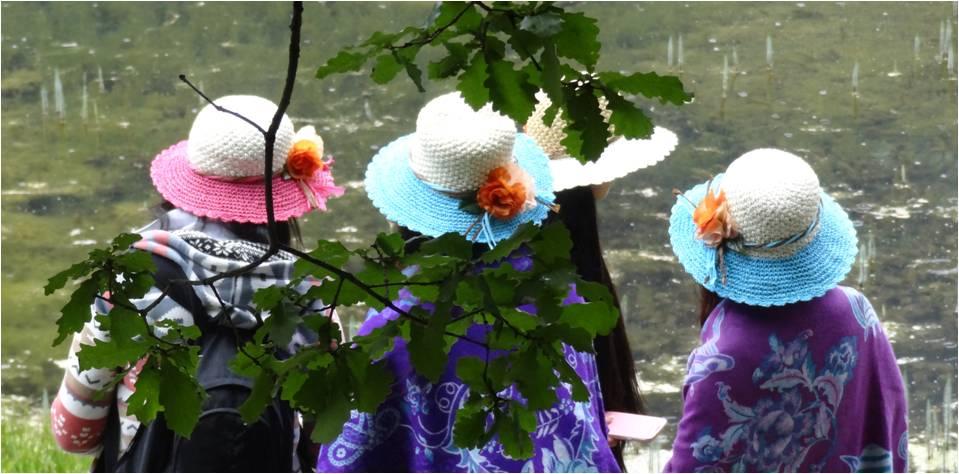 Chine Jiuzhaigou déguisement 3