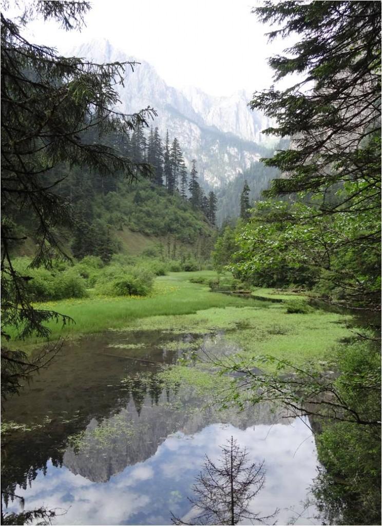 Chine Jiuzhaigou lac long