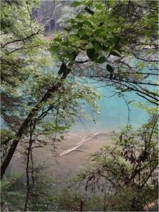 Chine Jiuzhaigou lac multicolore 7