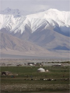 Chine Karakorum Tashkurgan pâturages