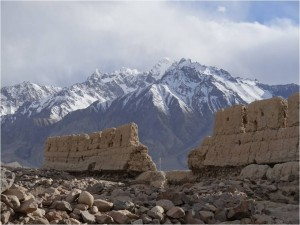 Chine Karakorum Tashkurgan remparts