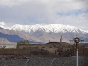 Chine Karakorum Tashkurgan ruines