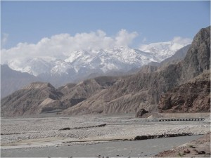 Chine Karakorum paysage 1