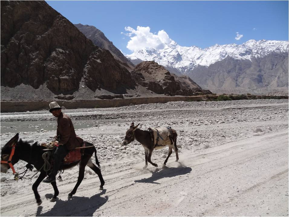 Sur la route de Karakorum