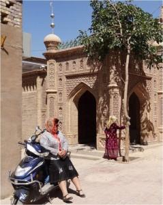 Chine Kashgar femme 1