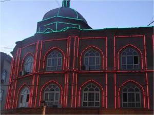 Chine Kashgar néons