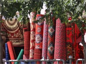 Chine Kashgar tapis