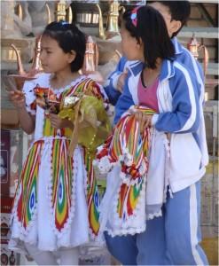 Chine Kashgar tissu Ouïgour 2
