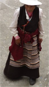 Chine Sichuan Litang femme