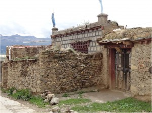 Chine Sichuan Litang maison 1