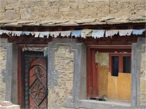 Chine Sichuan Litang maison 2