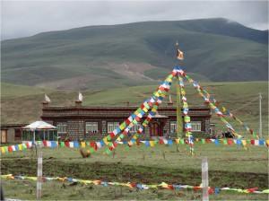 Chine Sichuan Litang maison 3