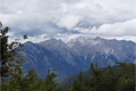 Chine Sichuan Xiangcheng paysage