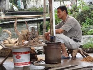 Chine Wuyuan Xiao Likeng travailleur 1