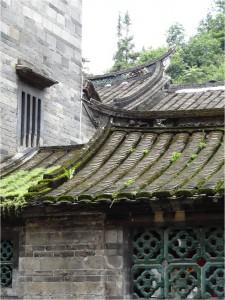 Chine Yongding toulou détail 2