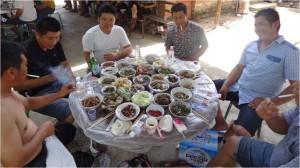 Chine minorités Xiaojie dai hommes