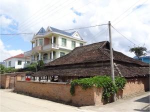 Chine minorités Xiaojie maisons