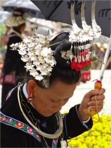 Chine minorités Xijiang miao 2