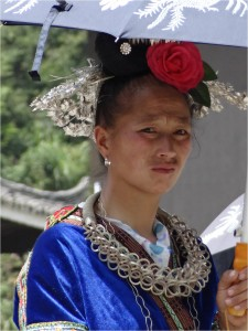Chine minorités Xijiang miao 4