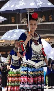 Chine minorités Xijiang miao 5