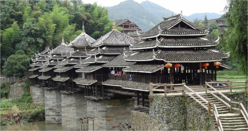 Chine minorités pont Chengyang