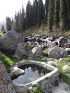 Kirghizistan Altyn Arashan sources chaudes 2