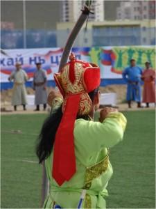 Mongolie Oulan-Bator Naadam archer 1