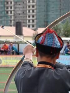 Mongolie Oulan-Bator Naadam archer 2