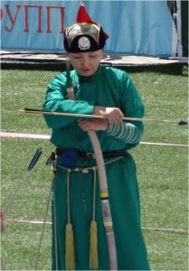 Mongolie Oulan-Bator Naadam archer 3