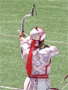 Mongolie Oulan-Bator Naadam archer 4