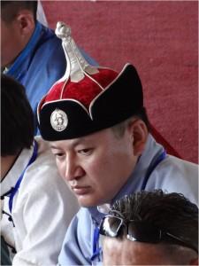 Mongolie Oulan-Bator Naadam costume 1