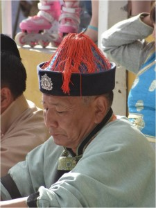 Mongolie Oulan-Bator Naadam costume 3