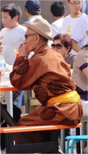 Mongolie Oulan-Bator Naadam costume 5