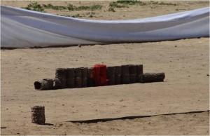 Mongolie Oulan-Bator Naadam ligne flèches 2