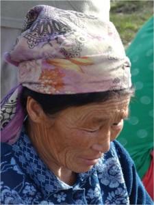 Mongolie Tsaatanes femme