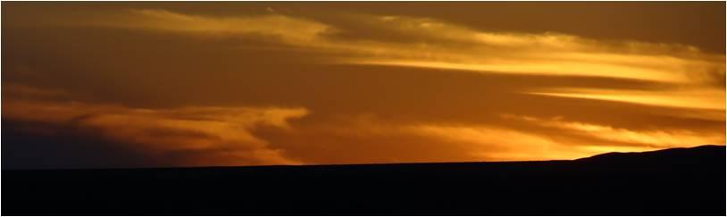 Mongolie désert Gobi 1000 facettes coucher soleil