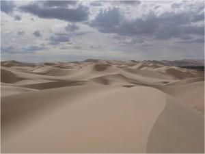 Mongolie désert Gobi Khongoryn Els dunes 1