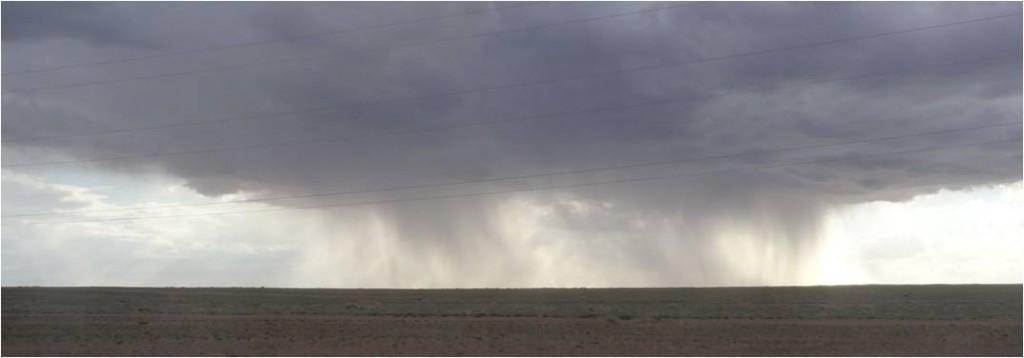 Mongolie désert Gobi averse