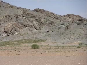 Mongolie désert Gobi montagnes colorées 2