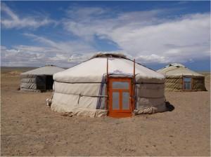 Mongolie désert Gobi yourte 4