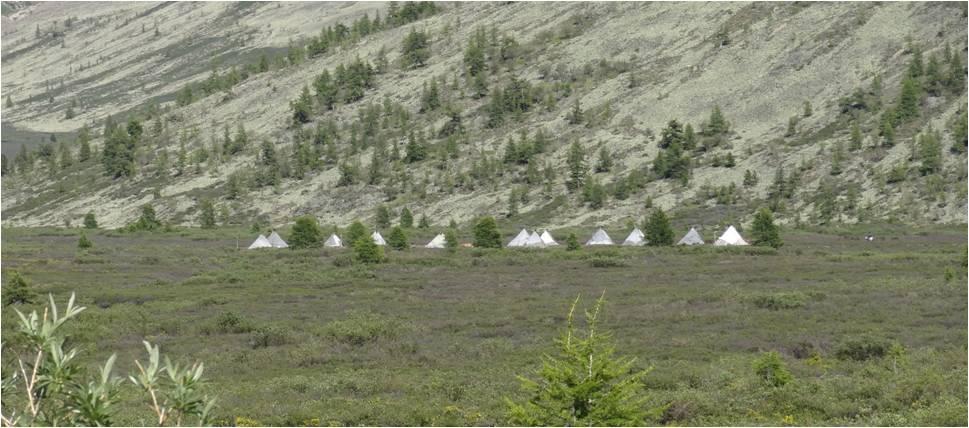 Mongolie trek cheval Tsaatanes tipis 1