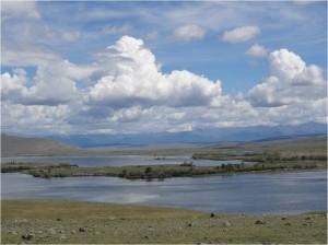 Mongolie trek cheval jour 6 lac Tsagaannuur