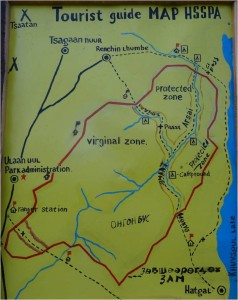 Mongolie trek cheval plan