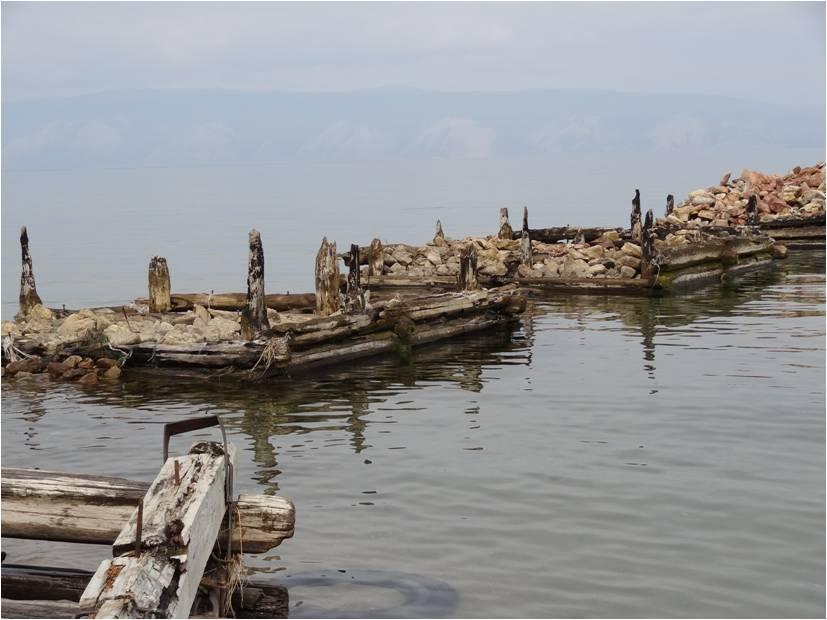 Baie de Peschanka sur l'île d'Olkhone