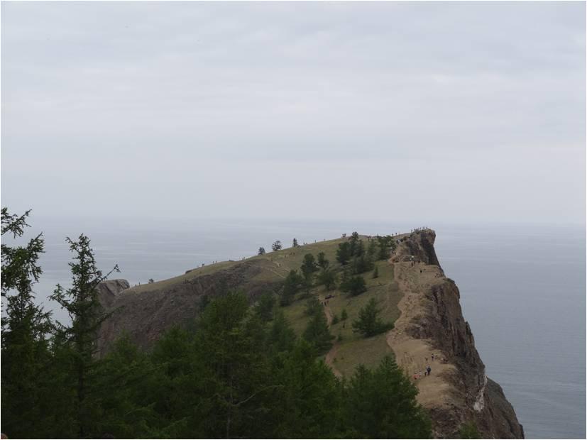 Cap Khoboy sur l'île d'Olkhone