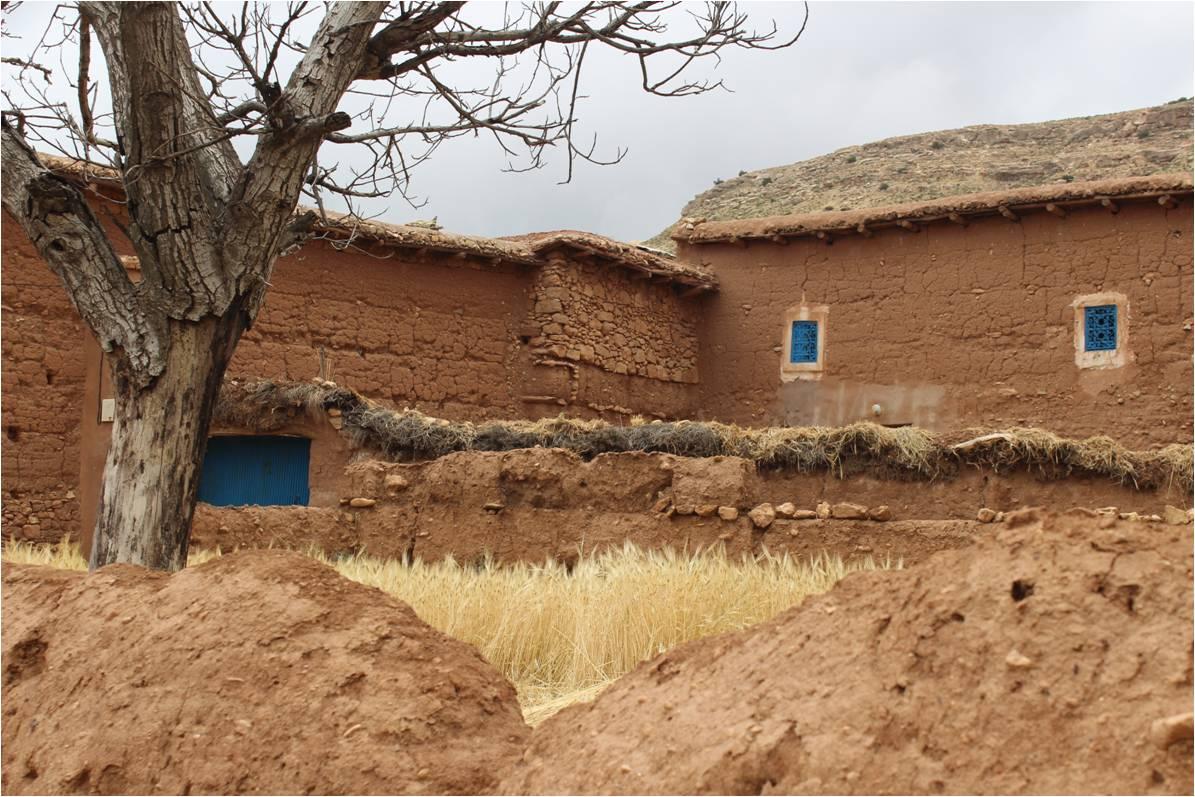 Maison en terre cuite maroc