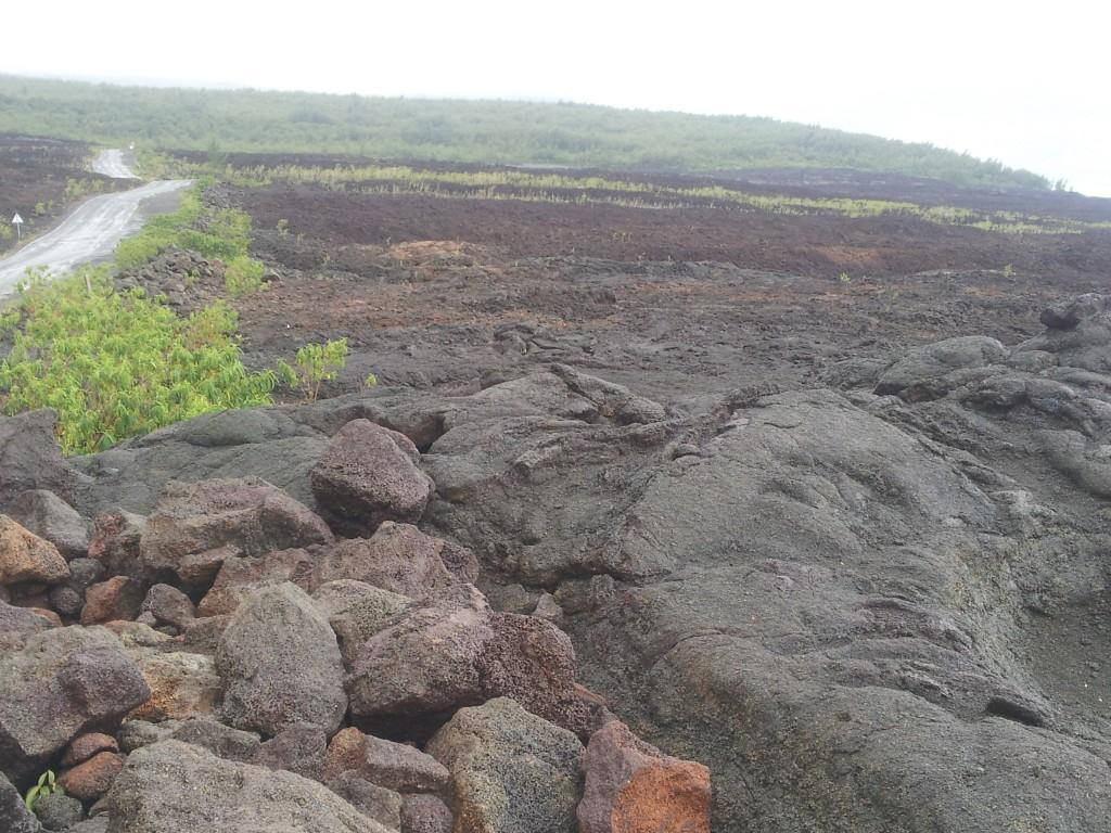 coulées lave Piton Fournaise Réunion